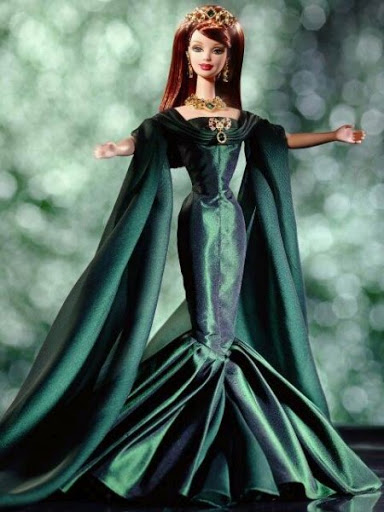 Barbies evening dress