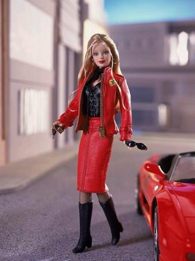 Racer Barbie