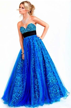 Blue Dress on Popular Prom Dresses