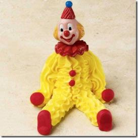 cake clown icing wilton