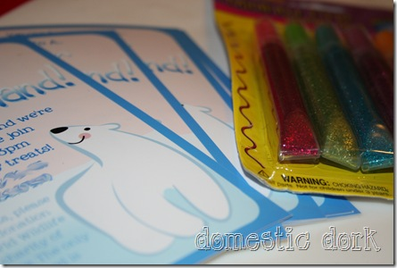 polar bear free invitation birthday party diy craft tutorial