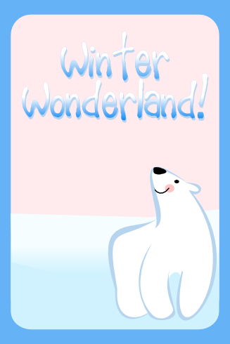free birthday party polar bear download invitation
