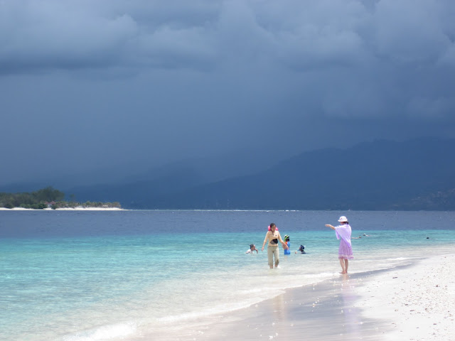 Perfect picture postcard from Gili Trawangan