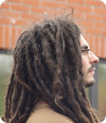 dreadlocked dude