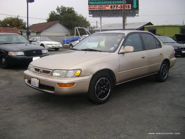 1997 Toyota Corolla Dx Inland Wholesale Auto Center