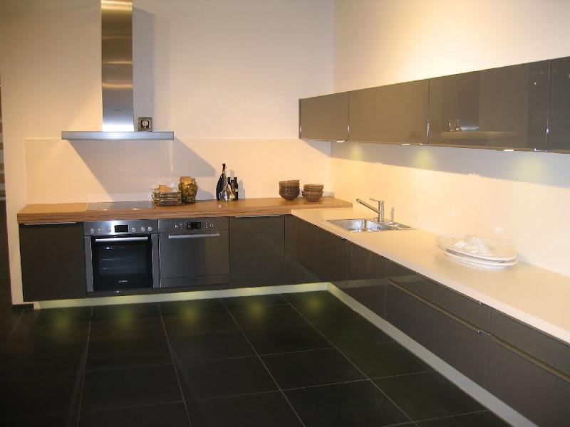 alnolux l einbauk che front hochglanz grafitmetallic. Black Bedroom Furniture Sets. Home Design Ideas