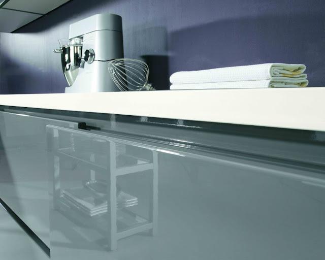 alnostar highline einbauk che front wei hochglanz. Black Bedroom Furniture Sets. Home Design Ideas