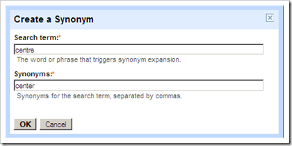 add trigger phrase and synonyms