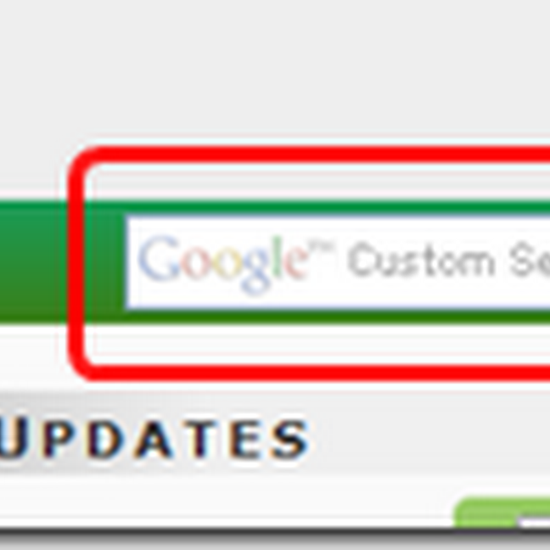 Add Custom Search box to navigation/menu bar