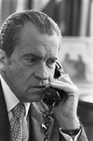 Richard Nixon listen to phone