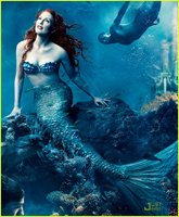 Mermaid in undersea fantasy
