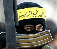 Armed terrorist