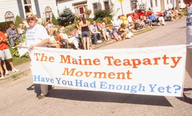 Banner: Maine Teaparty Movment - Have You Had Enough Yet?