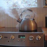 Boiling teapot