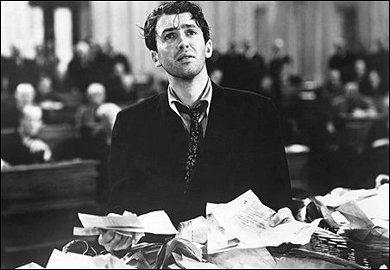 Jimmy Stewart's filibuster scene from 'Mr. Smith Goes to Washington'