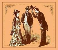 illustration from old book on etiquette