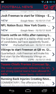 New York G. Football News - screenshot