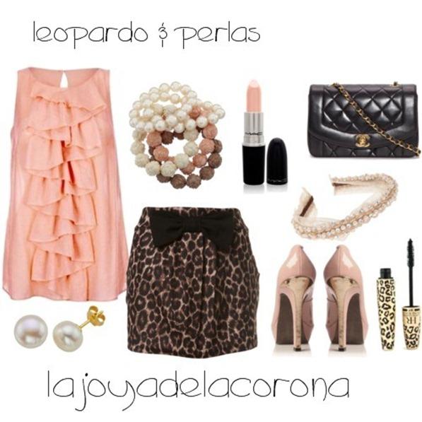 leopardo y perlas