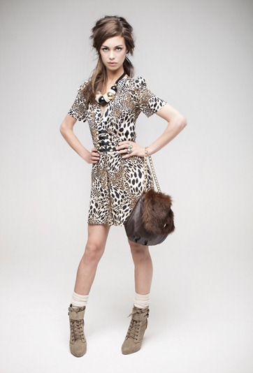 ·         Leopard playsuit £13
