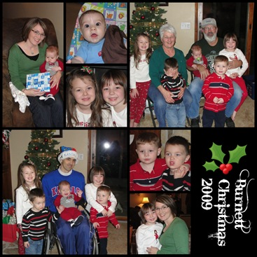 Burnett Chrismas Collage