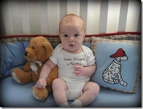 Isaac Bear 2 Months