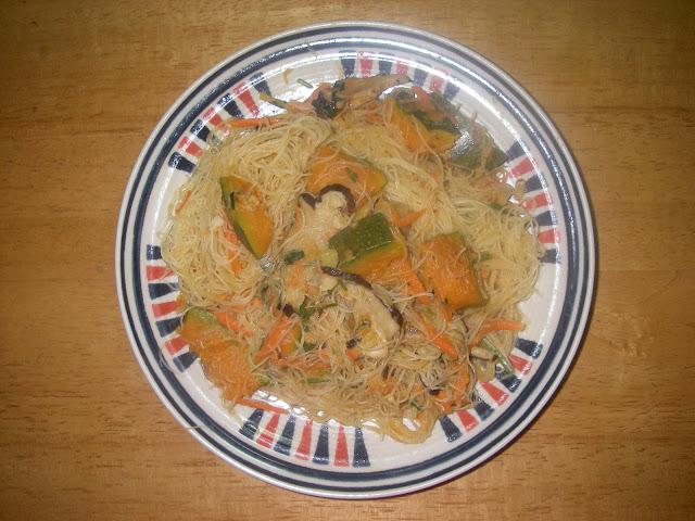 金瓜米粉炒