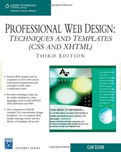 professional web design techniques and templates