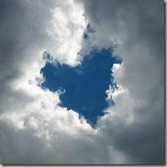 coração no céu
