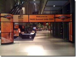 Welcome to PASS Summit Unite 2009
