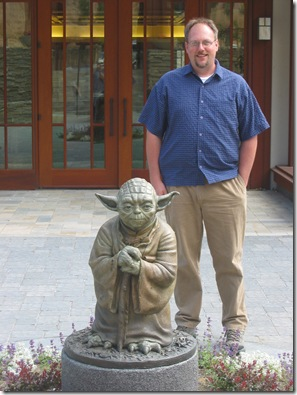 Greg and Yoda