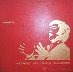(1968) Archivo del Cante Flamenco