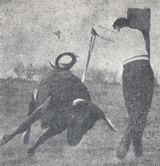 Juan Belmonte Par de banderillas 001