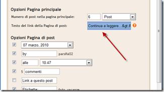 read-more-personalizzazione