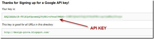api key 2 generate