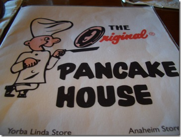 pancake house menu