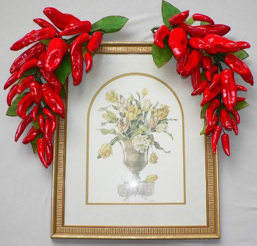 Red Chili Pepper Swag Kitchen Restaurant Decor Ebay
