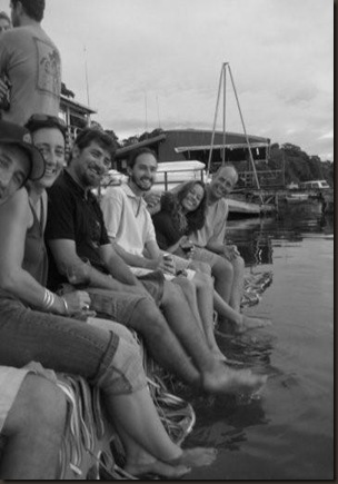 Hanging out on the dock!