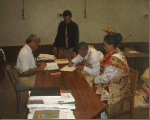 A Tongan Wedding