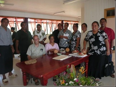 The people I work with at the Tonga Development Bank in Vava'u