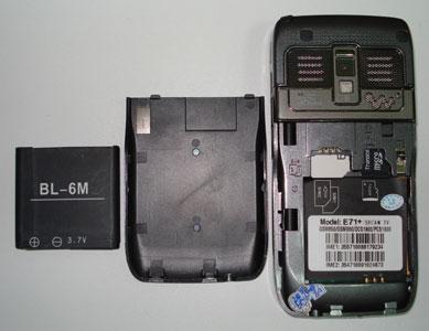 nokia N71 Китай