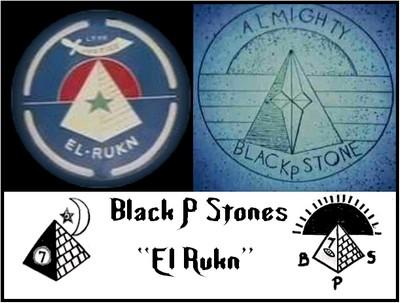 BLACK PRISON GANGS  Black P Stones