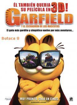 Poster de Garfield y La Fuerza De Las Mascotas