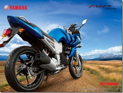 yamaha-fazer-blue-rear