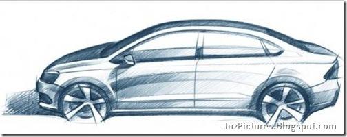 VW-Polo-Vento-Sedan-sketch