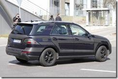 2012 Mercedes M-Class spy8