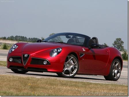 Alfa Romeo 8C Spider 9