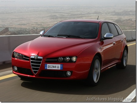 Alfa Romeo 159 Sportwagon 9