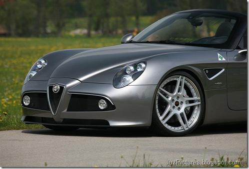 Alfa Romeo 8C Spider Kompressor by Novitec19