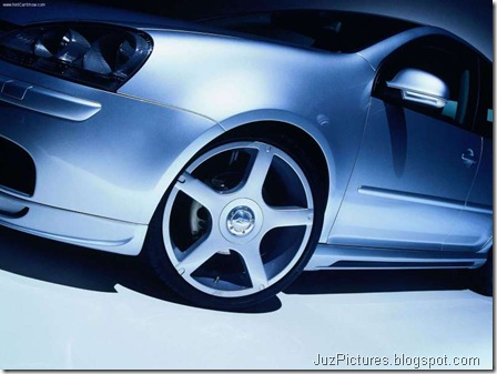 2005 ABT VW Golf - Front7