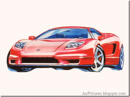 Acura NSX sketches - Design Sketches1